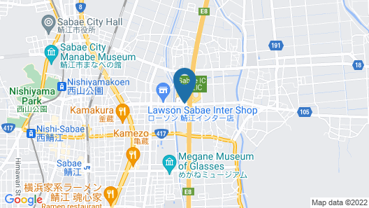 Hotel MIO - Adults only Map