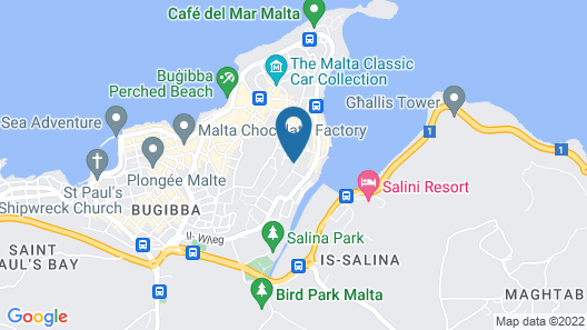 Soreda Hotel Map
