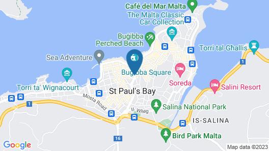 Hotel Primera Map
