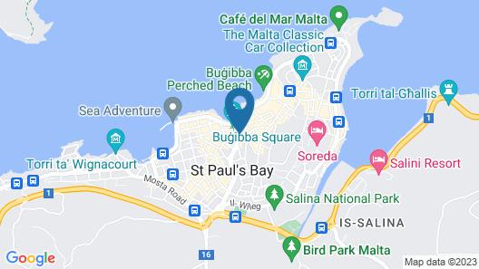 Relax Inn Hotel Map