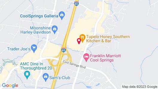 Residence Inn by Marriott Franklin Cool Springs Map