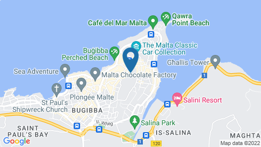 Mavina Hotel and Apartments Map