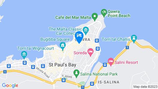 db San Antonio Hotel & Spa - All Inclusive Map