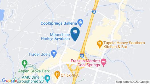 Comfort Inn & Suites Nashville Franklin Cool Springs Map