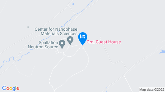 Ornl Guest House Map