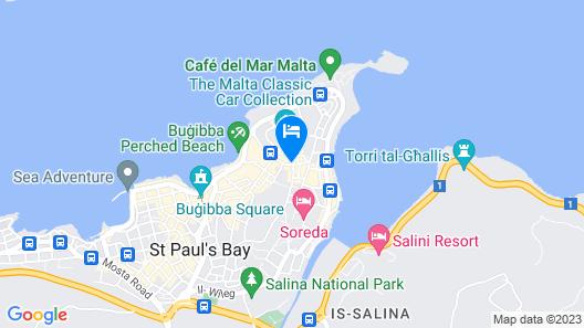 Hotel Santana Map