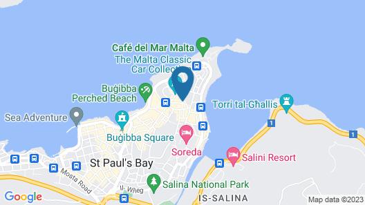Huli Hotel and Apartments Map
