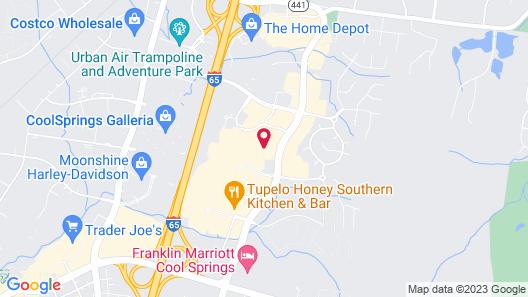 Home2Suites by Hilton Nashville Franklin Cool Springs Map