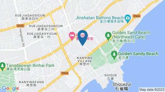 Hilton Qingdao Golden Beach Map