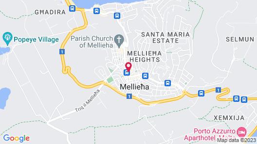 Solana Hotel & Spa Map