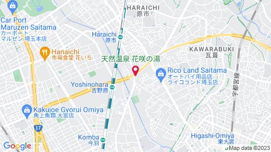MUSASHINO GRAND HOTEL AND SPA Map
