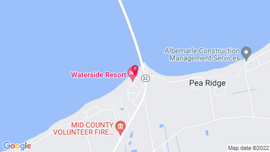 Waterside Resort by Capital Vacations Map