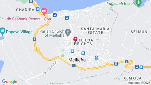 Pergola Hotel & Spa Map