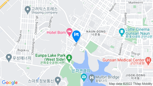 Ramada Gunsan Map