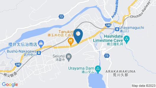 Family Lodge Hatagoya Chichibu Map