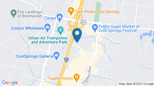 Extended Stay America Suites Nashville Franklin Cool Springs Map