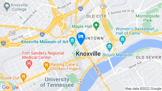 The Tennessean Personal Luxury Hotel Map