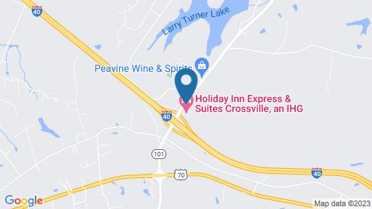 Holiday Inn Express & Suites Crossville, an IHG Hotel Map