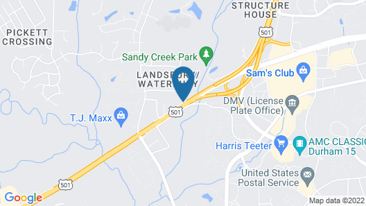 La Quinta Inn & Suites by Wyndham Univ Area Chapel Hill Map