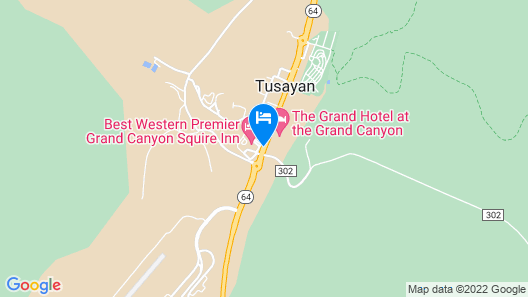 Best Western Premier Grand Canyon Squire Inn Map