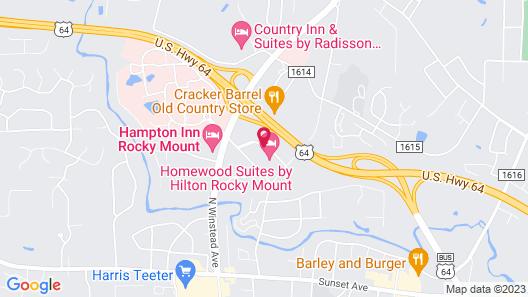 Residence Inn by Marriott Rocky Mount Map