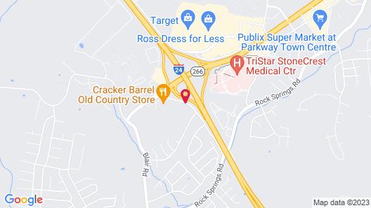 Hilton Garden Inn Nashville/Smyrna (Newly Renovated) Map