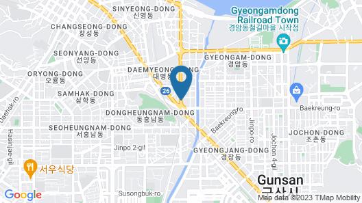 Avon Hotel Map