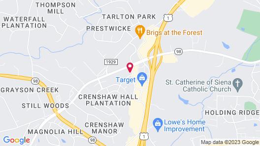 Fairfield Inn & Suites by Marriott Raleigh Wake Forest Map