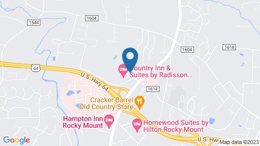 Fairfield Inn & Suites by Marriott Rocky Mount Map