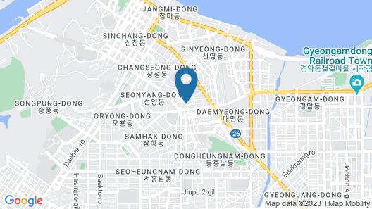 Gunsan B & B Hotel Map