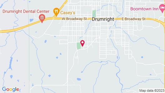 OYO Hotel Drumright I-44 OK Map