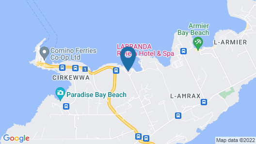 LABRANDA Riviera Hotel & Spa Map