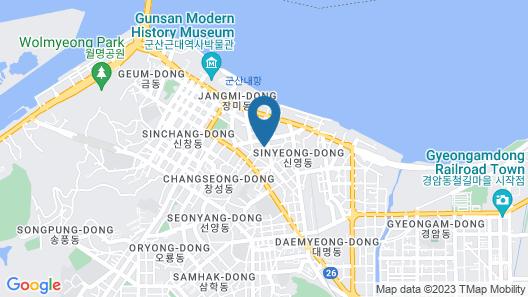 Hwadam Inn - Hostel Map