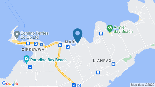 Ramla Bay Resort Map