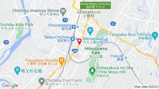 Hotel Route-Inn Chichibu Map