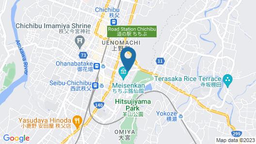 Comfort Stay Miyabi Map