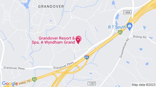 Grandover Resort Golf and Spa Map