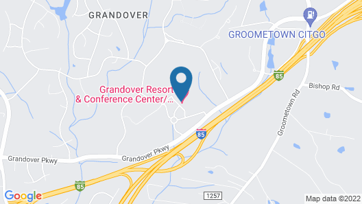 Grandover Resort Golf and Spa Map