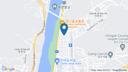M7 Business Hotel Map