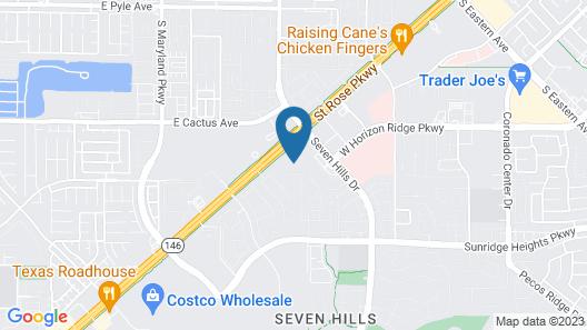 Residence Inn by Marriott Las Vegas South/Henderson Map