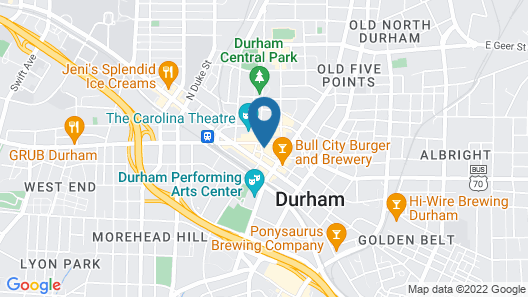 Unscripted Durham Map
