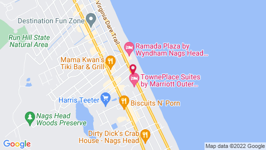 John Yancey Oceanfront Inn Map