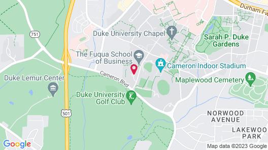 JB Duke Hotel Map