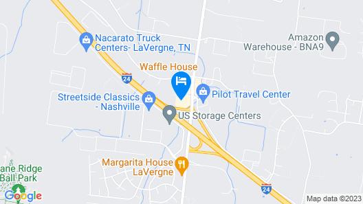 Econo Lodge Inn & Suites Southeast Map