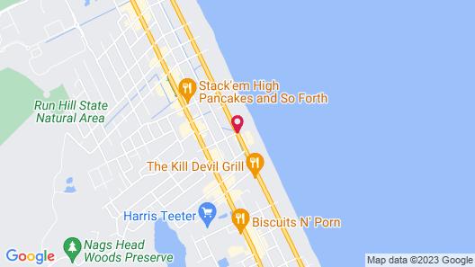 Comfort Inn On the Ocean Map