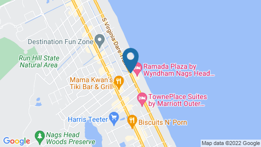 Comfort Inn On the Ocean Map