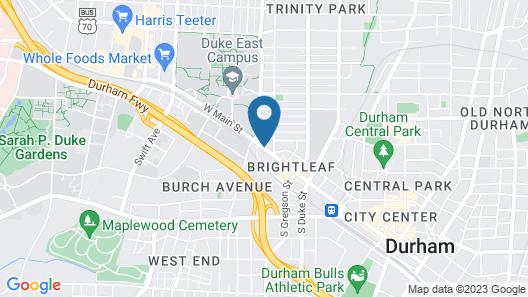 Residence Inn Durham McPherson/Duke University Medical Cntr Map