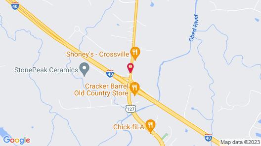 Baymont by Wyndham Crossville Map