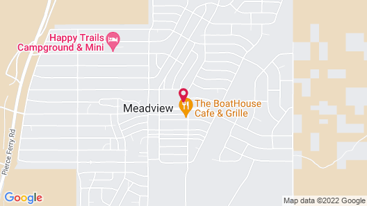 Meadview Lake Motel Map