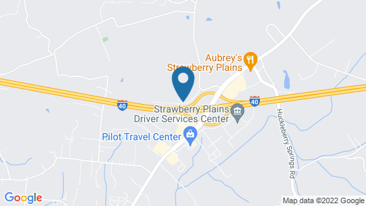 Travelodge by Wyndham Knoxville East Map